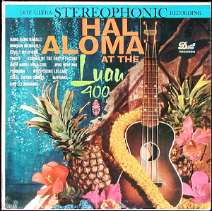 Cover of an album recorded at Luau 400 in New York