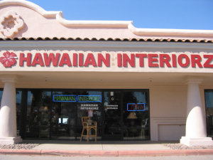 Entrance to Hawaiian Exteriorz