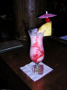 Madam Pele drink at Haleiwa Joe's Seafood Grill in Rancho Mirage