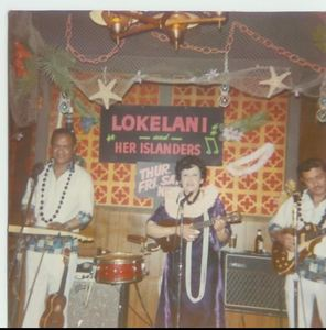 Lokelani, Leonard Lua and George Sepulveda performing at Tahitian Hut in San Francisco