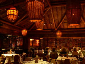 The main dining room at Trader Vic's in Dallas