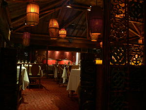 Main dining room at Trader Vic's in Dallas