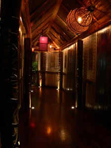 Entry hallway at Trader Vic's in Dallas