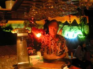 Owner David Chan on the final closing night of the Honolulu Restaurant in Alexandria