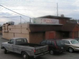 Exterior of the Honolulu Restaurant in Alexandria