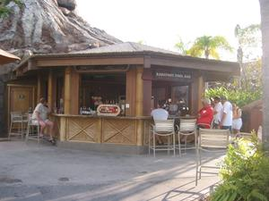 Poolside bar at Disney's Polynesian Resort in Orlando