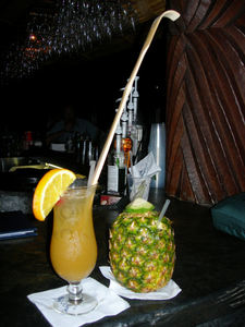 The Back Scratcher and Lapu Lapu at Disney's Polynesian Resort in Orlando