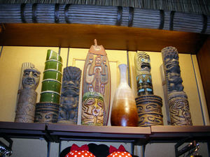 The Boutiki gift shop at Disney's Polynesian Resort in Orlando