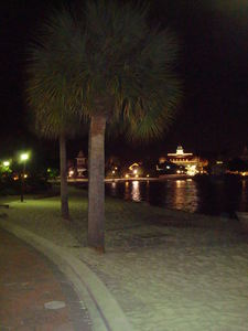 The beach at Disney's Polynesian Resort in Orlando