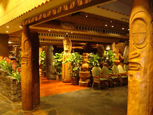 'Ohana restaurant at Disney's Polynesian Resort in Orlando