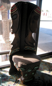 A Witco seat in the Aku Tiki Inn lobby in Daytona Beach