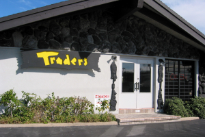 Entrance to Traders Restaurant in Daytona Beach