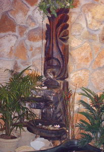 Witco fountain at Hawaiian Inn in Daytona Beach