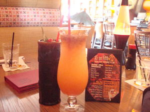 Drinks at Mister Tiki's Mai Tai Lounge in San Diego