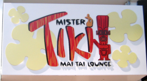 Sign for Mister Tiki's