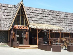 Exterior of Restaurant Aloha in St-J�r�me