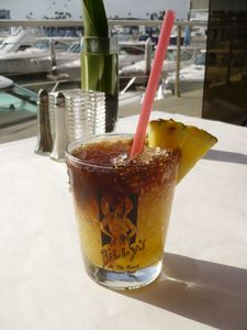 Mai Tai at Billy's at the Beach in Newport Beach