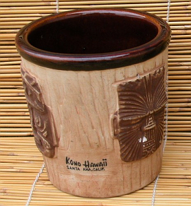 3-face bucket mug from Kono Hawaii