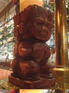 Candle votive at Trader Vic's in San Francisco