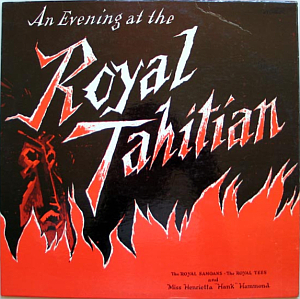 Souvenir album from the Royal Tahitian
