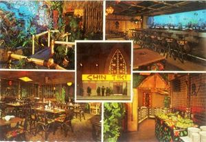 Postcard from Chin Tiki in Detroit