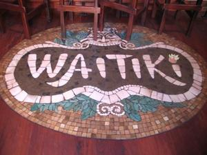 Floor at Waitiki in Orlando