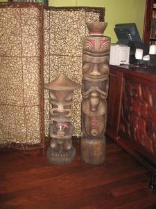 Tikis at Waitiki in Orlando