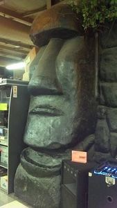 Moai at Fry's Electronics in Manhattan Beach