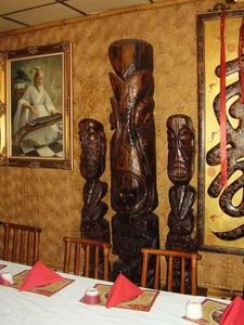 Witco tikis at Chef Shangri-La in North Riverside