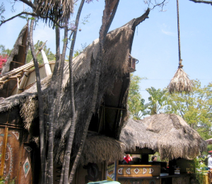 Exterior of the Enchanted Tiki Room