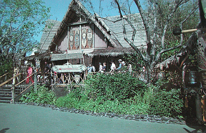 Postcard from the Enchanted Tiki Room