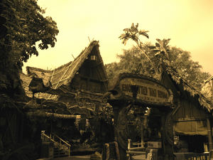 The Enchanted Tiki Room at Disneyland in Anaheim