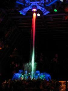 Fountain at the Enchanted Tiki Room in Anaheim