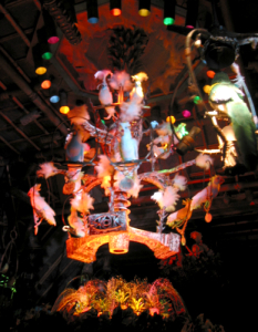 Centerpiece of the Enchanted Tiki Room