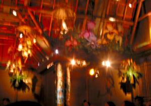 The finale at the Enchanted Tiki Room
