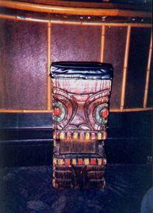 Stool at the Tiki Lounge in Ludington