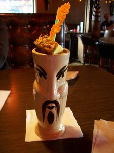 Fu Manchu drink at Psycho Suzi's Motor Lounge in Minneapolis