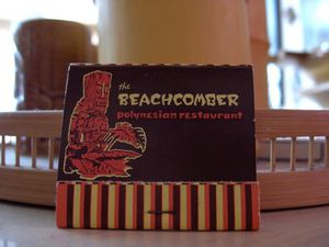 Matchbook from The Beachcomber in Calgary