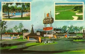 Postcard from Hawaiian Village Motel in Myrtle Beach