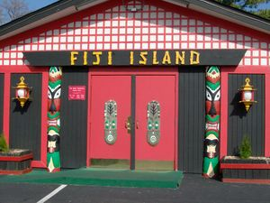 The entrance to Fiji Island in Roanoke
