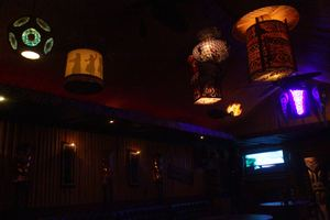 Lighting at Purple Orchid Exotic Tiki Lounge in El Segundo