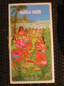 Souvenir menu from Bali Hai in Lynnfield