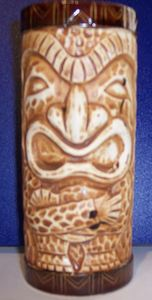 Tiki mug from Bali Hai in Lynnfield