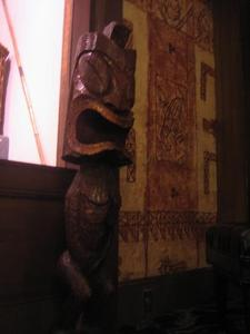 Tiki at Trader Vic's in Emeryville