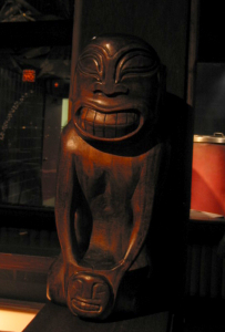 Tiki at the Emeryville Trader Vic's