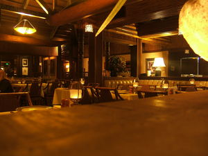 Dining area at Trader Vic's in Emeryville