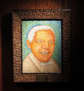 "Mosaic of ""Trader Vic"" Bergeron at Trader Vic's in Emeryville"