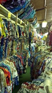 Aloha shirts at Exotical Hawaiian Apparel in Downey