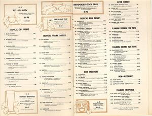 Menu from Bahooka Ribs & Grog in West Covina