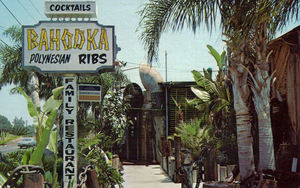 Postcard from Bahooka Ribs & Grog in West Covina